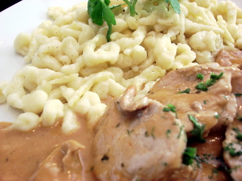 Brotzeit MV - pork fillets with homemade noodles 1