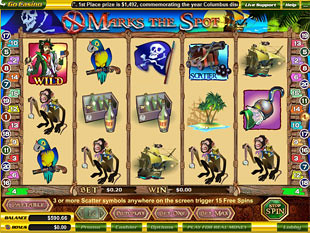 X Marks The Spot slot game online review