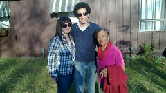 My grandma, Heather and I