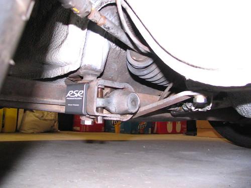 911S A-arm Bearings rear