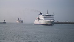 Seafrance Moliere & Pride of Dover.