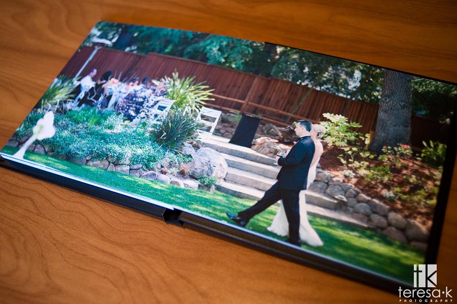 Sacramento Wedding Photographer Teresa K Coffee Table Book