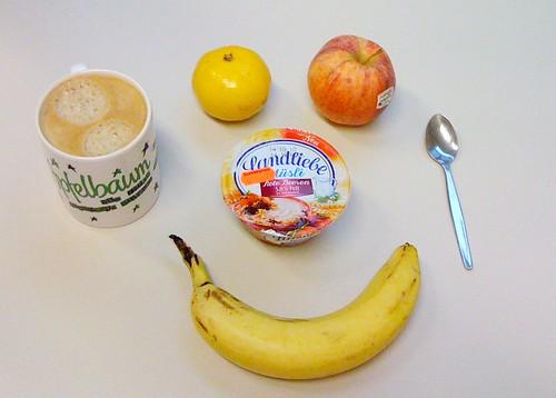 Satsuma, Royal Gala, Banane & Landliebe Müsli