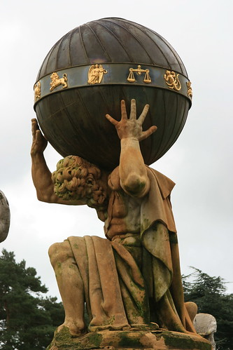 Atlas, Castle Howard