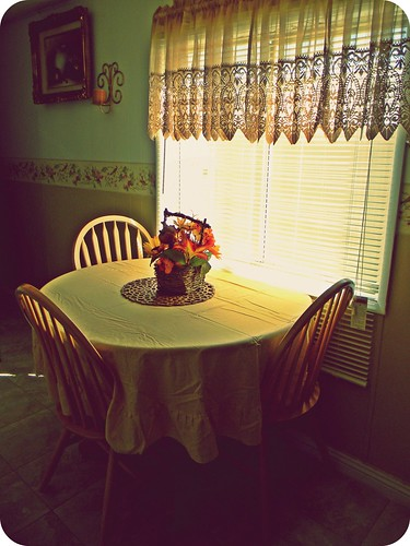 Dinner alone
