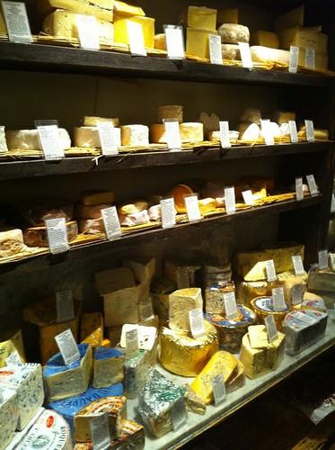 The cheese larder