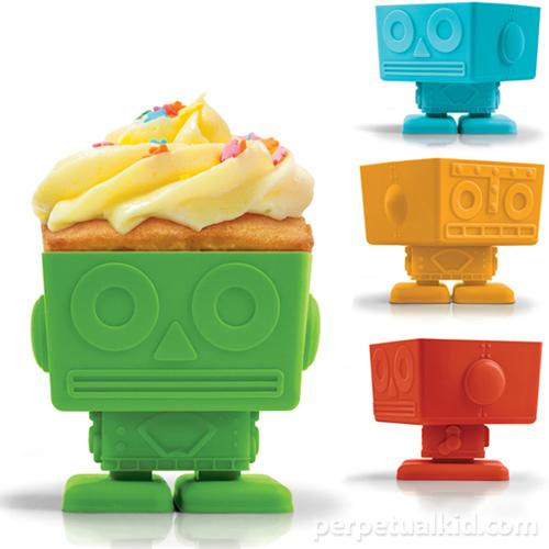 FF_yumbot robot cupcake molds_ perpetual kid