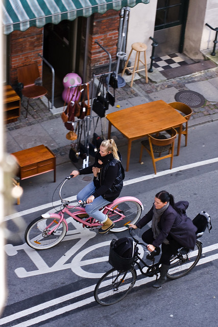 Elm Street Pink Bike