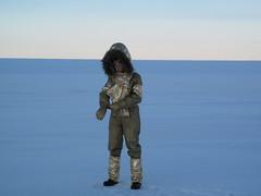 Parvati as Natamba at the North Pole (parvatimusic) Tags: nunavut parvati northpole wardhuntisland