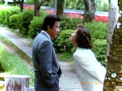 若林豪さんと坂口良子さん