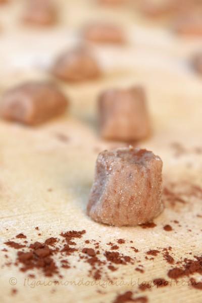 gnocchi al cacao