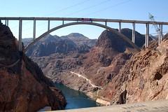 Hoover Dam Bypass Bridge ()'(stefanie) Tags: bridge arizona river nikon lasvegas nevada celebration hooverdam hooverdambypass