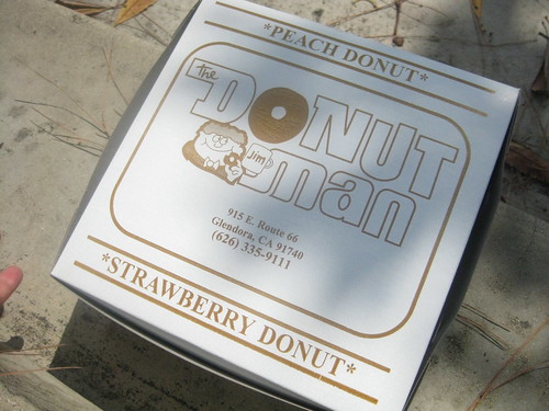 Donut Man in Glendora