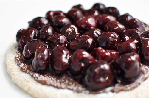 Nutella and Cherry Pizza 2