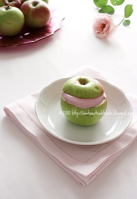 Mele in rosa