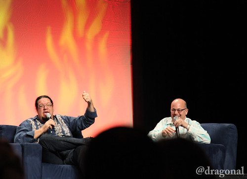 Penn Jillette and Rob Barnett