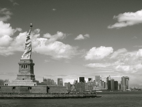 Right view of liberty
