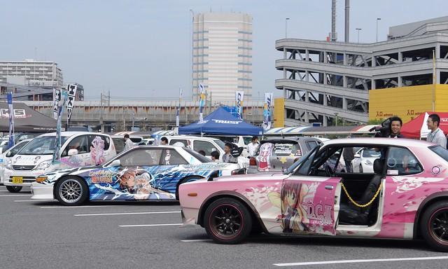 Funabashi auto festival : itasha booth