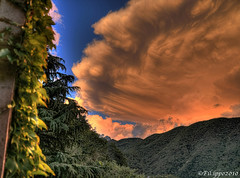 Clouds / Nuvole (Fil.ippo) Tags: nuvole clouds nuvola cloud asso brianza tramonto sunset pink rosa filippo hdr country campagna justclouds d5000 filippobianchi