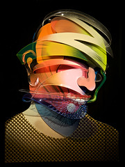 Adam Neate - The Flock Series I (Romany WG) Tags: adam london 3d paintings series 2010 neate theflock elmslester paintingrooms