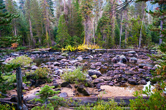 River in Little Yosemite valley