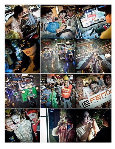 Bangkok 2nd Annual Thai Zombie Walk 16th October 2010 Page 3