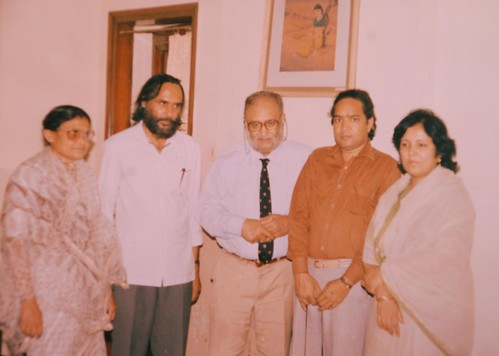 Prof Israr Ahmad with Dr Abdul Salam