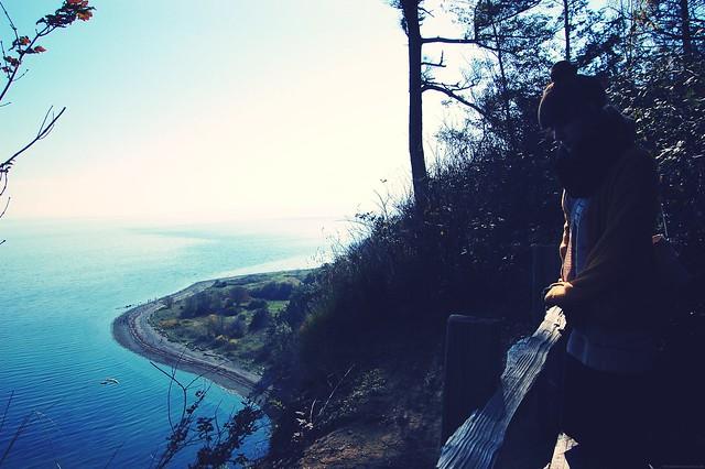 cliff edge.
