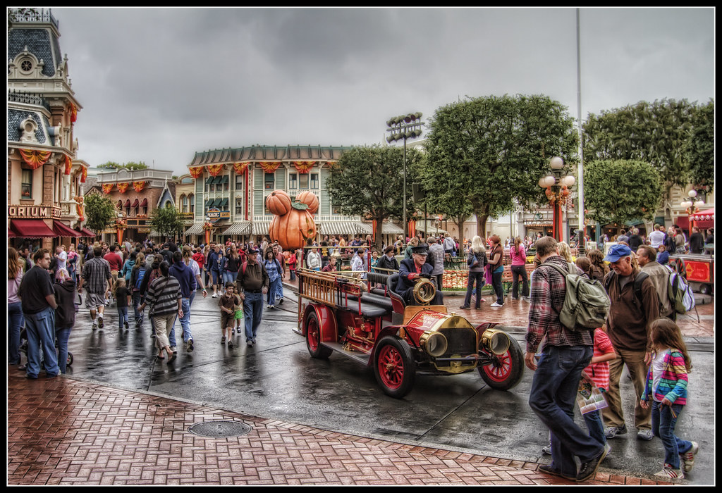 A Rainy Day on Main Street USA won't keep us from walking for CHOC