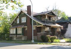 highland park shingle.jpg (southofbloor) Tags: park house building detroit cottage shingle highland craftsman bungalow