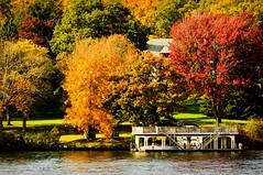 Lake Placid NY (gyanmusic) Tags: vacation ny color fall nature beautiful beauty nikon scenery fallcolor lakegeorge foliage adirondack d90 fallseason nikond90