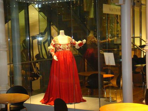 Vestido de exposición
