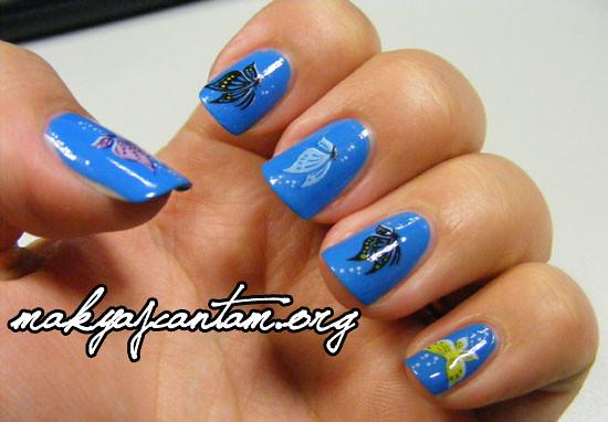Alessandro Turqoise Ocean Nail Art