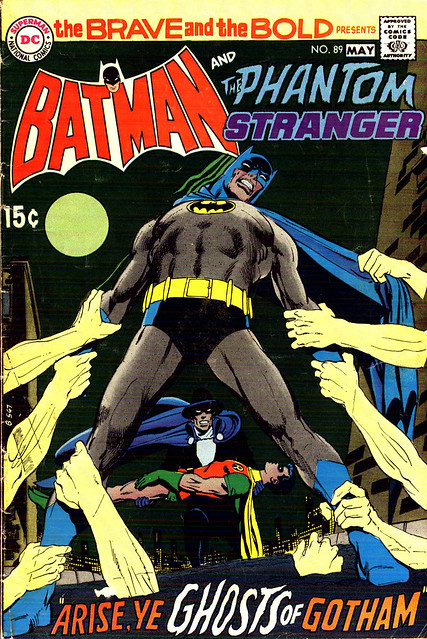 Brave And Bold Batman Phantom Stranger cover by Neal Adams