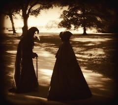 "Halloween 2010 - Madison and Me ""Black Priest and Disciple"" (Ed Speir IV) Tags: halloween graveyard monster children costume scary child satan cult horror demon demonic satanic 2010 cultist ritutal"