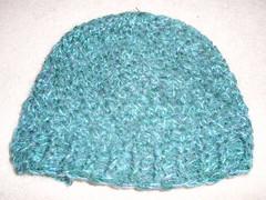 green mohair lid #1