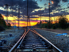Looking toward Baltimore (pheαnix) Tags: station train minolta sony amtrak delaware 24mm newark septa 1001nights f28 hdr a700 minoltaamount 1001nightsmagiccity