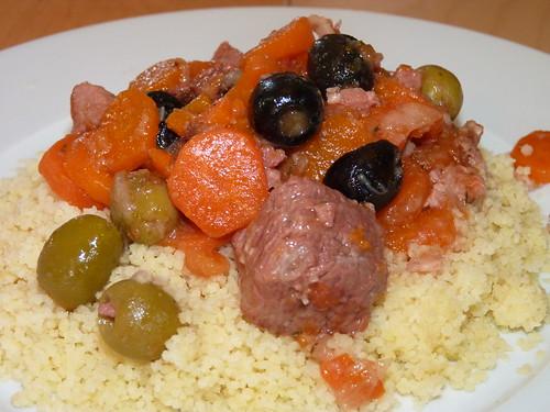 braisé d'agneau aux olives18