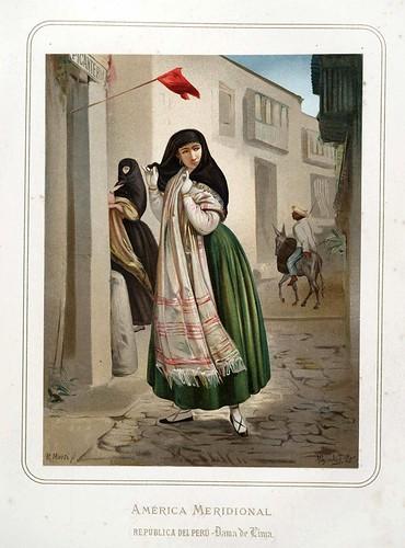 012-Republica del Peru-Dama de Lima-Las Mujeres Españolas Portuguesas y Americanas 1876-Miguel Guijarro