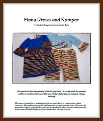 Fiona Dress and Romper Pattern (NB-24 months)