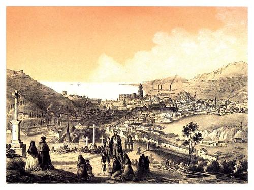 019-Malaga-Dibujo de J.Vallejo-Recuerdos y bellezas de España-Reino de Granada
