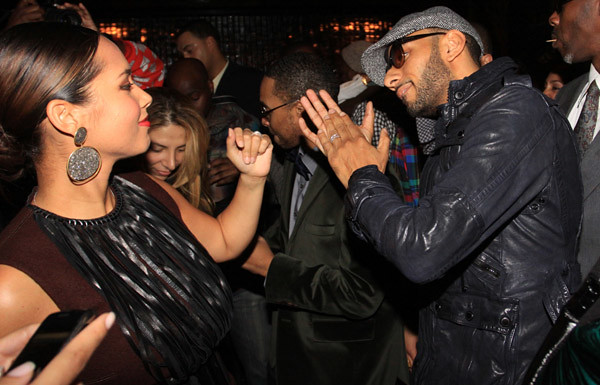 Alicia-Keys-and-Swizz-Beatz-dancing by Fee World Order