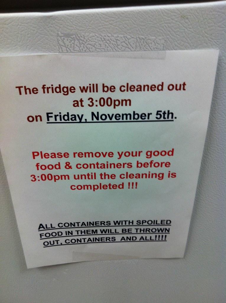 224/365 - Fridge Cleaning