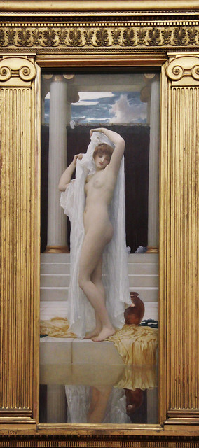 The Bath of Psyche, Frederic Leighton, 1890