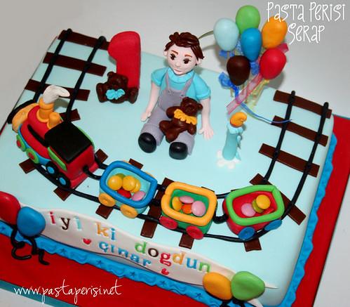 1ST BIRTHDAY CAKE - Çınar