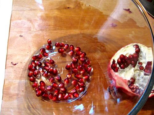 It's fall! Bring on the pomegranates