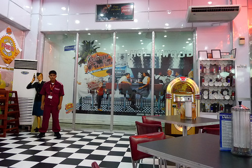 Inside Johnny Rockets