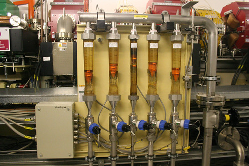 Oil for the vacuum pumps