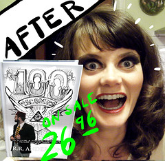 AFTER: 100 Tacomics Book by RR Anderson