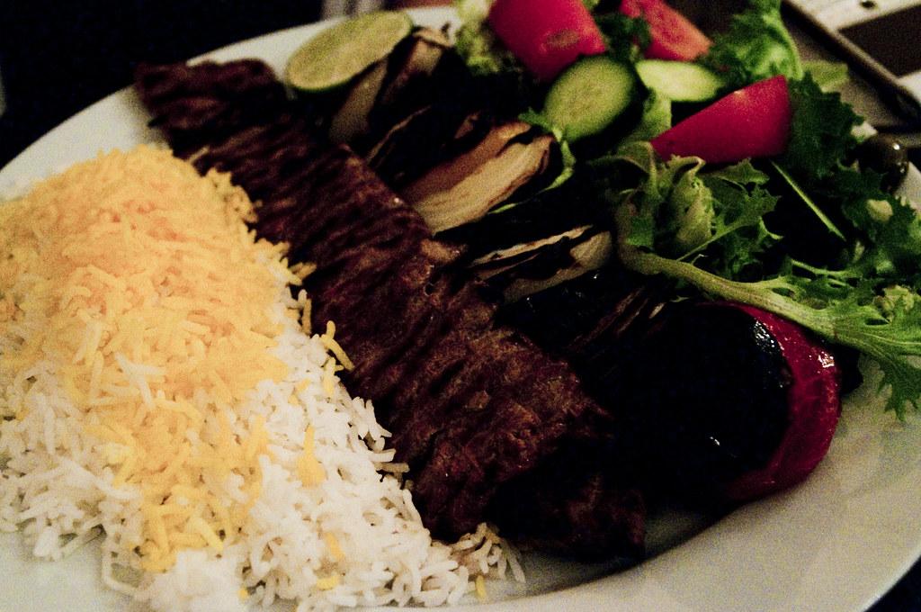 Anar Persian Kitchen Menu